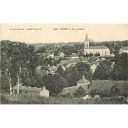63 VENSAT. Vue générale de la Ville. Carte rare et impeccable 1915