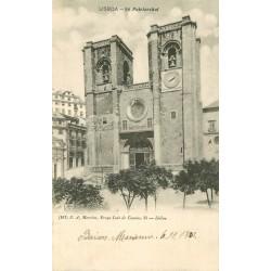 2 x Cpa LISBOA. Sé Patriarchal et Basilica da Estrella 1902