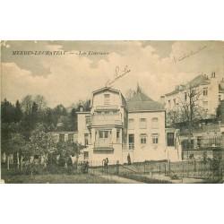 2 Cpa MERBES-LE-CHATEAU. Jardiniers sur les Liserons 1917 et Eglise
