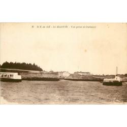 17 SAINT-MARTIN ILE DE RE. Vue prise en bateaux