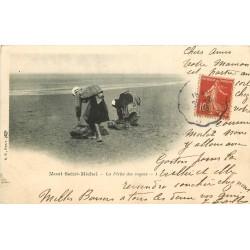 50 LE MONT SAINT MICHEL. La Pêche aux Coques 1908