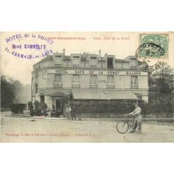 78 SAINT-GERMAIN-EN-LAYE. Hôtel Café de la Forêt