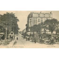 94 CHAMPIGNY-SUR-MARNE. Une Brocante rue Mignon