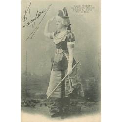 23 CHAMBON SUR VOUEIZE. Eugénie Fougère Héroïne du Drame d'Aix-les-Bains