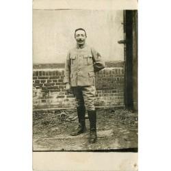MILITARIA. Photo carte postale d'un Soldat du 16 Régiment d'Infanterie
