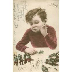 """Illustrateur ALBERT BEERTS. Les Soldats de plomb """" com Joffre """""""