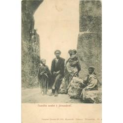 Famille arabe à Jérusalem vers 1900