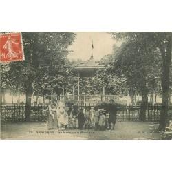 92 ASNIERES SUR SEINE. Le Kiosque à Musique 1909