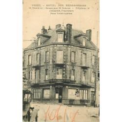 19 USSEL. Hôtel des Messagerie Jaquier Place Treich-Laplène
