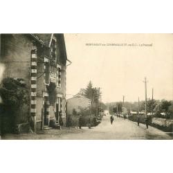 63 MONTAIGUT-EN-COMBRAILLE. Hôtel vers Le Prieuré