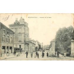 88 NEUFCHATEAU. Café Agriculture avenue de la Gare 1906