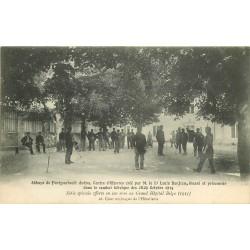36 ABBAYE DE FONTGOMBAULT. Centre d'Oeuvres pour blessé et prisonnier d'Octobre 1914
