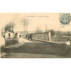 42 LE COTEAU. Le Pont de Rhins 1905