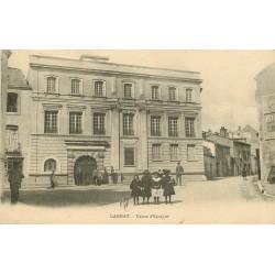 03 GANNAT. Caisse d'Epargne belle animation 1923
