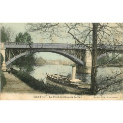78 CHATOU. Pont du Chemin de Fer 1907