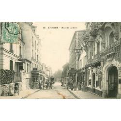 95 ERMONT. Garage et Rôtisserie rue de la Gare 1907