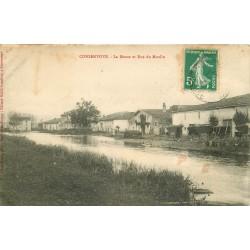 55 CONSENVOYE. La Meuse et rue du Moulin vers 1911