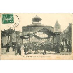 23 FELLETIN. La Halle jour de Marché vers 1912