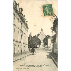 61 REGMALARD REMALARD. Pensionnat de Demoiselles et Eglise 1910