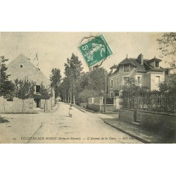 77 VILLIERS-SUR-MORIN. Avenue de la Gare 1911