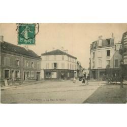 95 SANNOIS. Hôtel et Café du Centre Place de l'Eglise