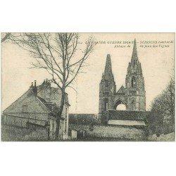 carte postale ancienne 02 SOISSONS. Abbaye Saint-Jean des Vignes