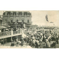 carte postale ancienne 14 TROUVILLE. Top Promotion. Le Casino 1910