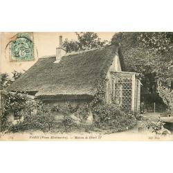 75 PARIS 18° Maison d'Henri IV 1907