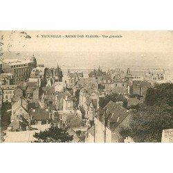 carte postale ancienne 14 TROUVILLE. Top Promotion. Vue sur la Ville 1918