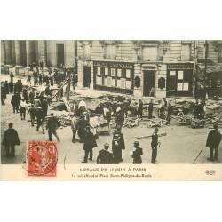 PARIS VIII. Orage 1914 Place Sain-Philippe-du-Roule Banque Crédit Lyonnais