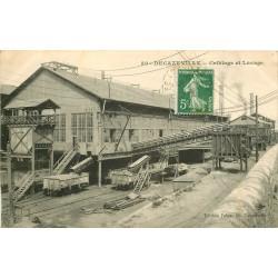 12 DECAZEVILLE. Criblage et Lavage des Mines avec wagonnets 1912