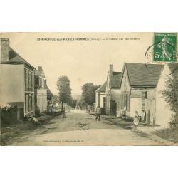 89 SAINT-MAURICE-AUX-RICHES-HOMMES. Avenue des Marronniers 1913