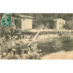 83 BAIE DE MAGAUD. La Fête au Restaurant 1911