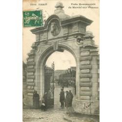 PARIS XV. Porte Monumentale du Marché aux Chevaux 1908