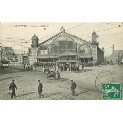 76 LE HAVRE. La Gare 1911