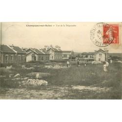 77 CHAMPAGNE-SUR-SEINE. Vue de la Séquanaise 1911