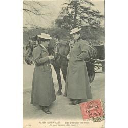 PARIS NOUVEAU. Les Femmes Cocher Cochère 1907. De quoi causent-elles ?