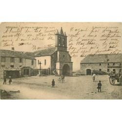 07 MEZILHAC. Place de l'Eglise 1907