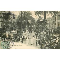 83 HYERES. En Fête avec défilé de Chars 1907