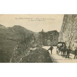 39 Route de Morez aux Rousses. Turu et Mont Fier 1922