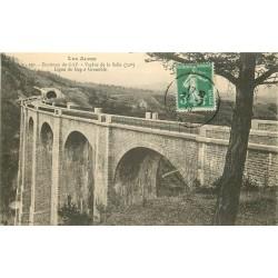 05 Ligne de Gap à Grenoble. Viaduc de la Selle 1913