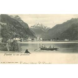 FLUELEN mit dem Bristenstock 1904