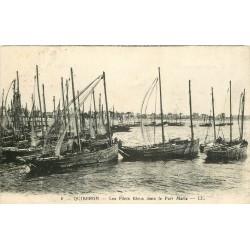 56 QUIBERON. Bateaux de Pêche les Filets Bleus dans le Port Maria 1932