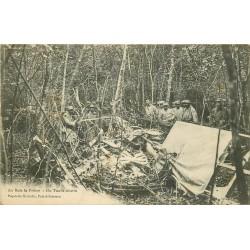 54 AU BOIS LE PRÊTRE. Un Taube allemand abattu