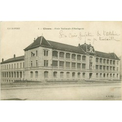 74 CLUSES. Ecole Nationale Horlogerie 1921