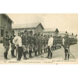 CASABLANCA. Rare une Revue des Tirailleurs Légion Etrangère Marocains