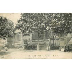 93 SAINT-OUEN. Le Marché couvert 1907