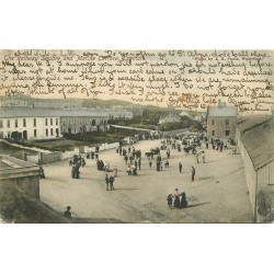 IRLANDE. Railway Square and Marine Terrace Tramore 1905