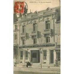 03 MOULINS. Banque la Société Générale 1913