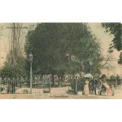 36 ISSOUDUN. Entrée des Champs Elysees 1910